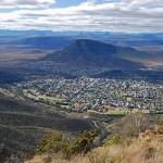 Graaff-Reinet cradled by the Horseshoe Bend in the Sundays River