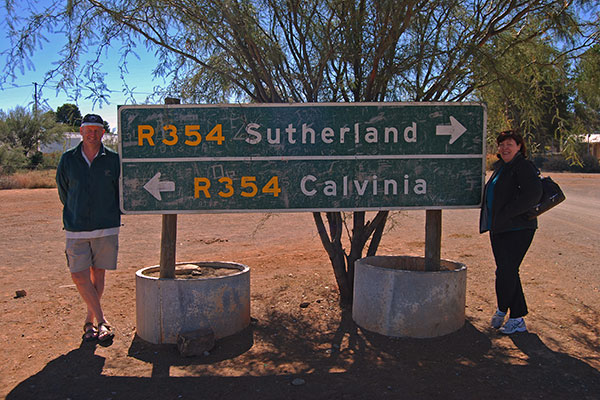 Crossroads to Sutherland and Calvinia