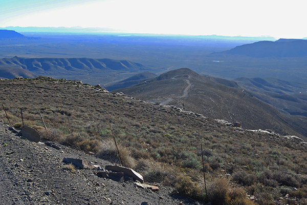 Ouberg Pass looking out over the Ceres Karoo