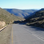 Verlatekloof Mountain Pass links Sutherland with Matjiesfontein