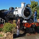 Class 24 Steam Locomotive in the Calvinia Museum