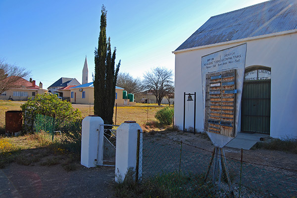 Loeriesfontein Museum housed in the old Baptist Church