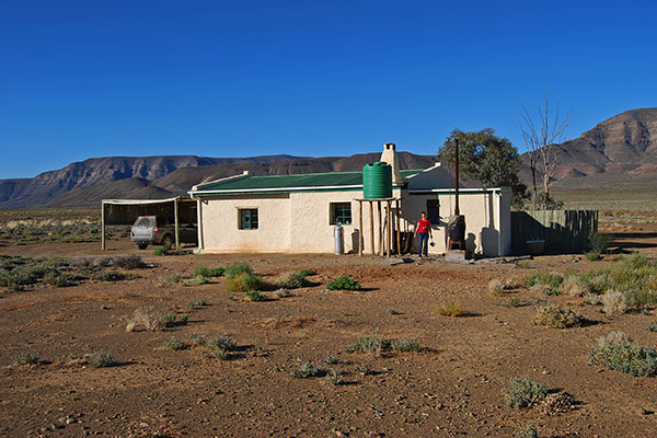 Paulshoek Cottage with a donkey boiler, oil lamps and absolute solitude in the Tankwa Karoo National Park