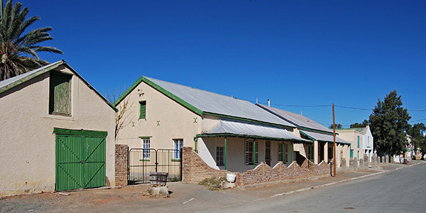 Typical Karoo cottages in Britstown