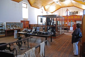 The Interior of the Carnarvon Museum