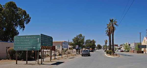 Carnarvon is at the crossroads of the Karoo