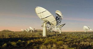 The Square Kilometre Array near Carnarvon
