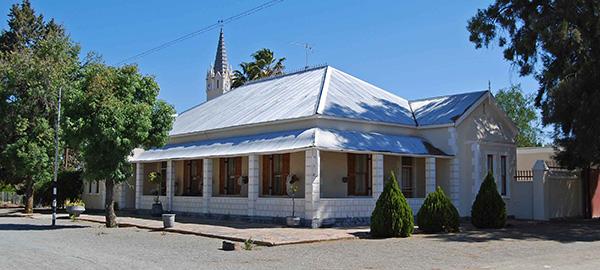 Typical Edwardian era architecture in Vosburg