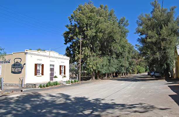Die Ketel Coffee Shop in Vosburg