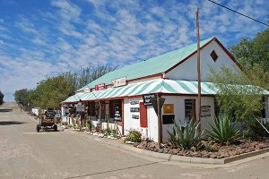 Typical Karoo architecture in Williston