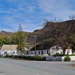 The historic homestead located in Karoo Poort