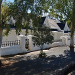 Semi-detached cottages in Matjiesfontein