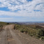 The summit of the Rooiberg Pass provides spectacular views across the wide open spaces of the Koup