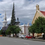 Donkin Street runs through the historical centre of Beaufort West