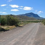 A lonely crossroad between Beaufort West and Murraysburg