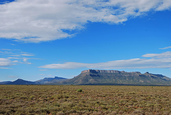 The Sleeping Giant between Beaufort West and Aberdeen