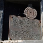National Monument Plaque on the Anglo Boer War Blockhouse outside Laingsburg