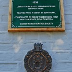 Memorial Plaque - St James Anglican Church