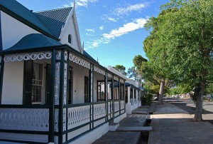 Leiwater channels provide water for the gardens of Graaff-Reinet