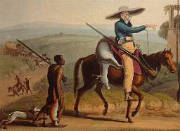 A Trekboer or Nomadic Farmer in the old Cape Colony