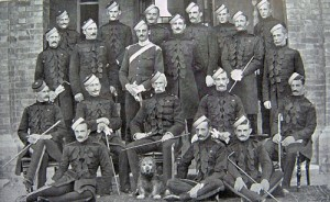Officers & men of the 6th Inniskilling Dragoons saw action in the Aberdeen District