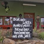 Blik-sm's-lekke Restaurant in Pearston