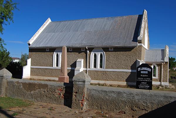 St Andrews Anglican Church in Pearston