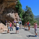 Entrance to the Cango Caves