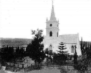 The fortified Dutch Reformed Church during the Anglo Boer War
