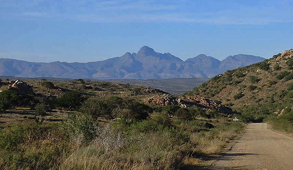 Cockscomb Peak in the Grootwinterhoek Mountains