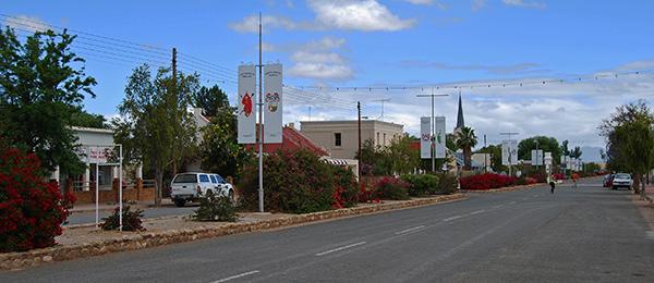 Piet Retief Street in Steytlerville