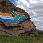 Valley of the Flags near Steytlerville