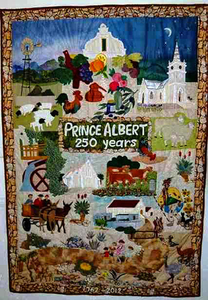 The Prince Albert Heritage Quilt