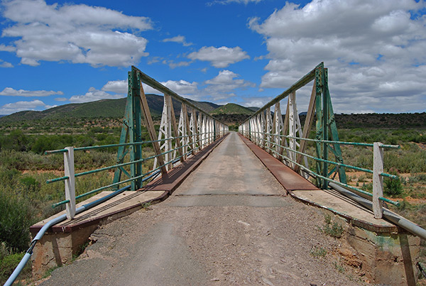 Lady de Waal Bridge in Steytlerville