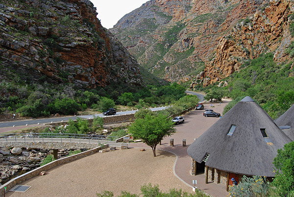 Information Centre in Meiringspoort