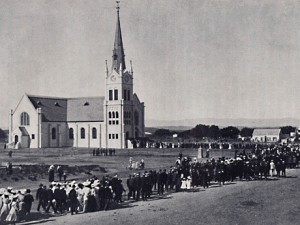 Consecration of the Steytlerville Dutch Reformed Church in 1907