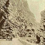 The Swartberg Pass in the 1880s