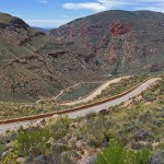 Descent of the Swartberg Pass towards Prince Albert