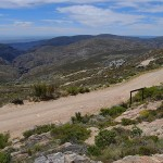 View from the top of Swartberg Pass, north over the Great Karoo