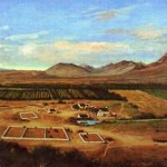 Queeckvalleij Farm Painted by Robert Gordon in 1778