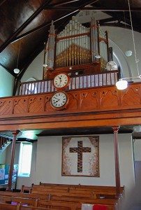 Jansenville Church Pipe Organ