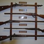 Rifle Exhibit in the Jansenville Museum
