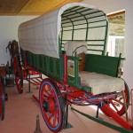 Restored transport wagon in the Jansenville Museum