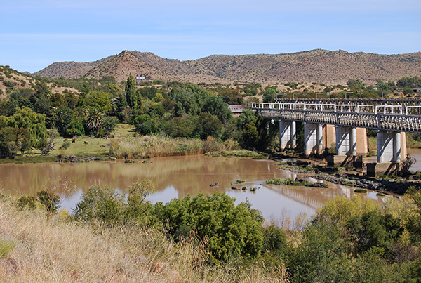 Norvalspont Bridge across the Orange River