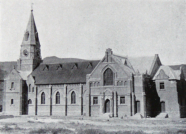 The Nieu Bethesda Dutch Reformed Church in 1917