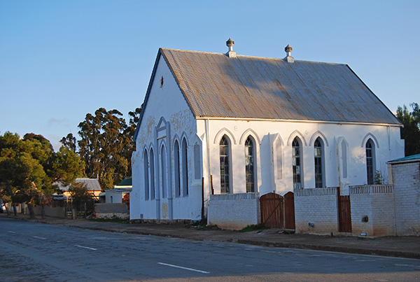 The disused Willowmore Synagogue
