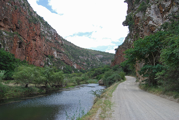 The Groot River Gorge