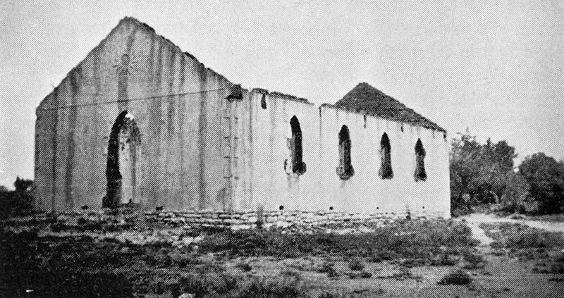 Remains of the NG Kerk in Burgerville outside De Aar