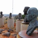 Busts of Afrikaner Leaders on Monument Hill