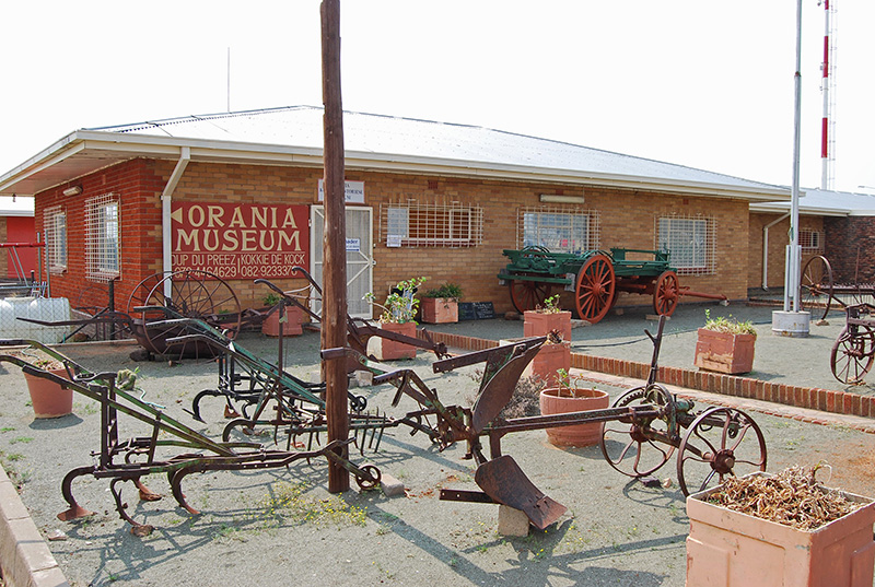 Agricultural Exhibit at the Orania Museum